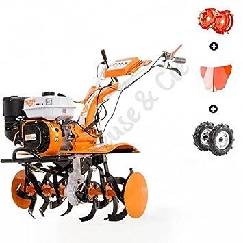 Motocultor 7,5 Cv 6 fresas velocidades 2AV - 1AR Ruedas ...
