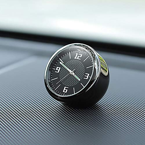 - Cailiaoxindong Car Clock Ornaments Auto Watch Air Vents Outlet Clip Mini Decoration Automotive Dashboard Time Display Clock in Car Accessories
