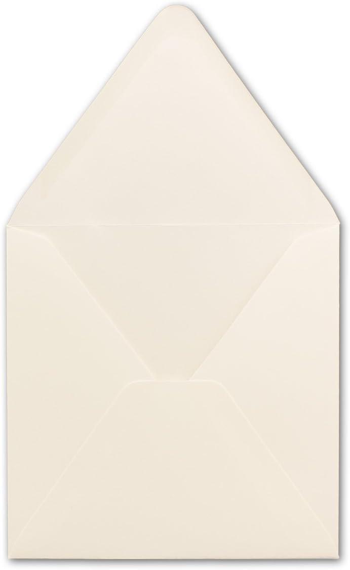 GUSTAV NEUSER Marke 16,0 x 16,0 cm 150x Briefumschl/äge Quadratisch 160 x 160 mm F/ür ganz besondere Anl/ässe Premium Qualit/ät Weiss Nassklebung 120 g//m/²