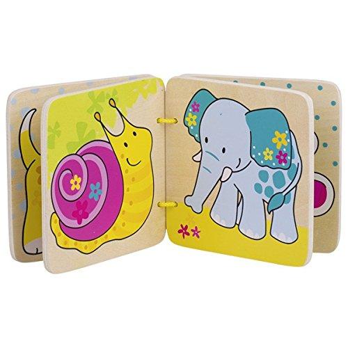 8 Bilder Modell zuf/ällig, 1 St/ück Holz goki 58552 Susibelle Bilderbuch Meine Freunde mehrfarbig 10 x 10 x 0,5 cm