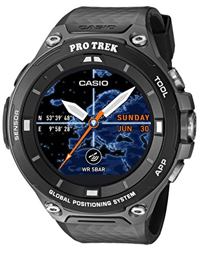 CASIO WSD-F20 Protrek Smart Watch - Black