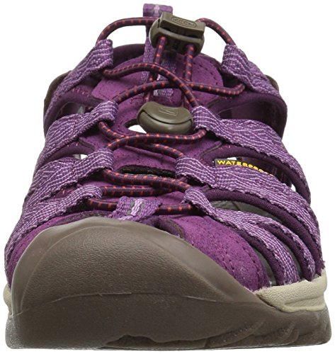 Morado Grape Mujer de Sandalias 0 Wine Senderismo Keen Grape para Whisper Kiss WwYqCxTp