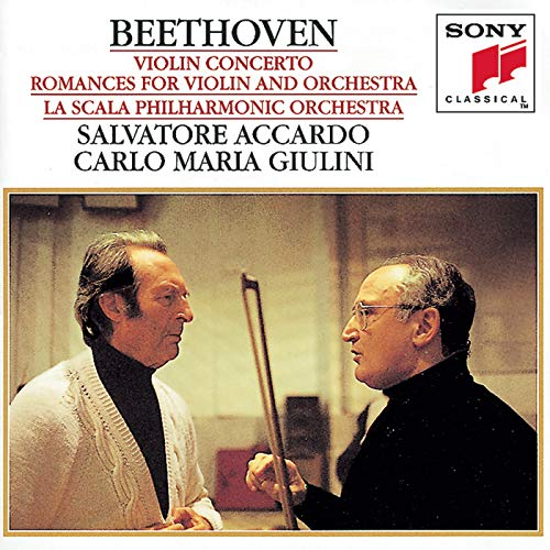 - Beethoven: Violin Concerto in D Major, Op. 61 & Romances for Violin and Orchestra