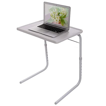 Brilliant Amazon Com Ssline Portable Tv Tray Foldig Laptop Desk Chair Bralicious Painted Fabric Chair Ideas Braliciousco