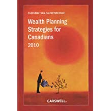Wealth Planning Strategies for Canadians 2010