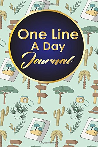 Download One Line A Day Journal: 5 Year Gratitude Journal, Five Year Memory Book, 5-Year Journal, One Line A Day Journal Five Year, Cute Safari Wild Animals Cover (One Line A Day Journals) (Volume 46) pdf