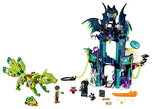 LEGO Elves Noctura's Tower & the Earth Fox Rescue 41194 Building Kit (646 (Spider Tower)