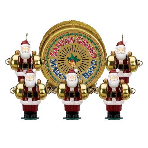 Amazon.com: Mr. Christmas Grand Santa's Marching Band: Home & Kitchen