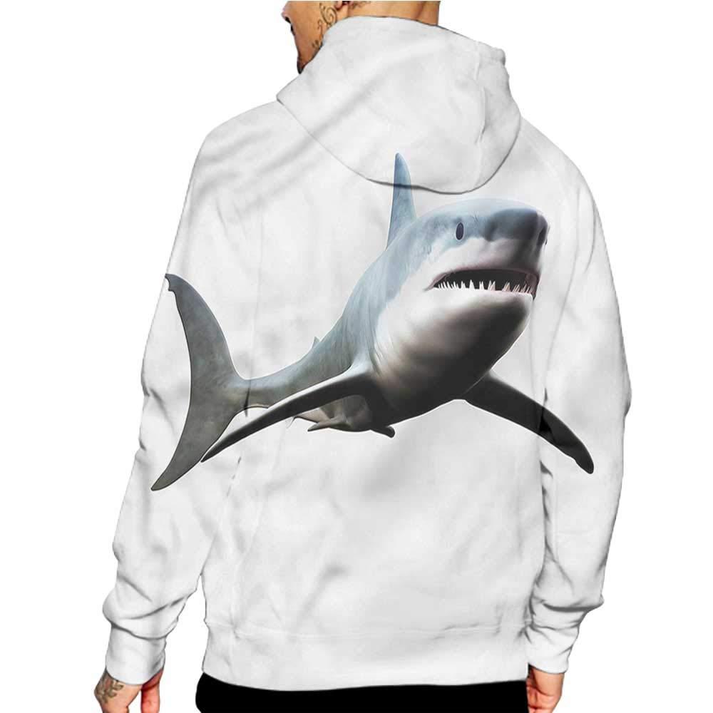 Unisex 3D Novelty Hoodies Scenery,Spring Time Bent Tree Lake,Sweatshirts for Women