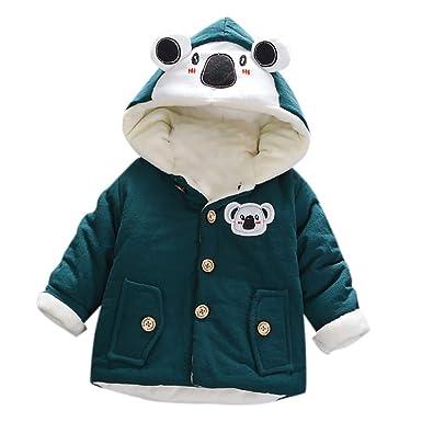 5f8d165e8 Zerototens Toddler Baby Boys Girls Coat Autumn Winter Hooded Coat ...