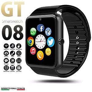 pcjob Smart Watch Bluetooth GT08 Android iOS con cámara ...
