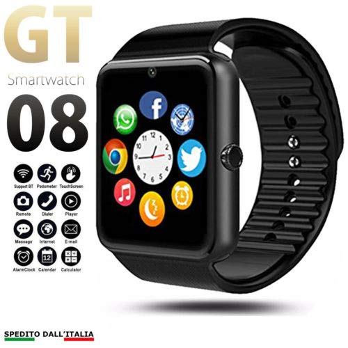 Pcjob Smart Watch Bluetooth GT08 Android IO para LG V30 V40 ...