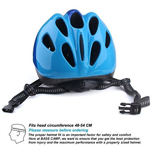 Base Camp Child Bike Helmet,Multi-Sport Helmet for Cycling Inline Roller Skating Skateboarding Scooter,Ages 3-7 by Base Camp (Image #4)