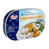 Appel delicious herring fillets in mustard sauce a la dijon ready to eat 7.05 oz Tin