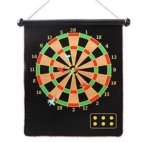 maikerry Magnetic Dart Board Games with 6個ソフトヒントターゲットゲームファミリの撮影スポーツおもちゃ