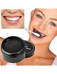 Coohole Hot Sale! Teeth Whitening Powder Natural Organic Activated Charcoal Bamboo Toothpaste