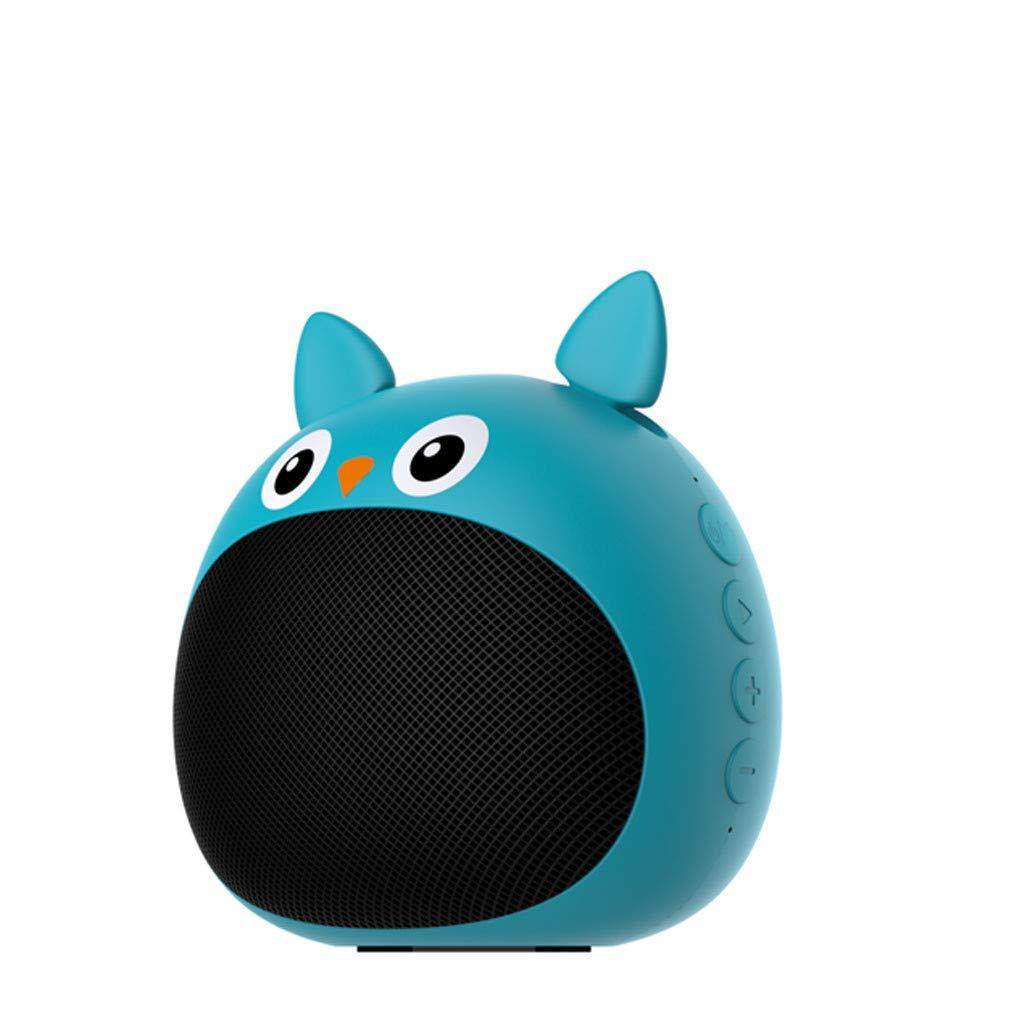 ❤SU&YU❤Mini Bluetoot Zealot /S28 True Wireless Stereo Animal Wireless Speaker for Kids (BU)