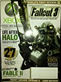 XBOX Magazine December 2008 #90 - Fallout 3, Life After Halo, 27 Games Reviewed