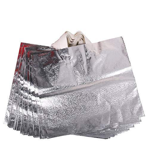 Rumcent Merchandise Bags,Retail Clothing Grocery Boutique Shopping Bags with Handles,Christmas Gift Bag, Size 15.7