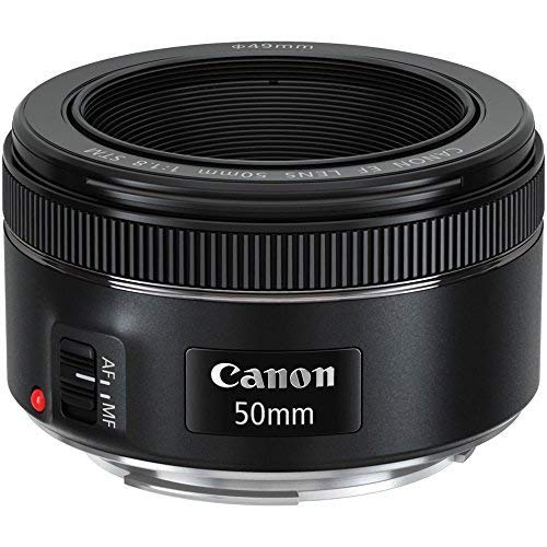 Canon EF 50mm f/1.8 STM Lens with USA Warranty + Filter Kit + Tripod + Lens Cleaning Pen + Accessory Bundle by The Imaging World (Image #1)