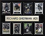 NFL Seattle Seahawks Richard Sherman 8-Card Plaque, 12 x 15-Inch