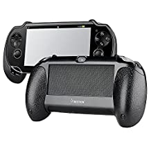 eForCity Hand Grip Compatible with Sony PlayStation Vita, Black