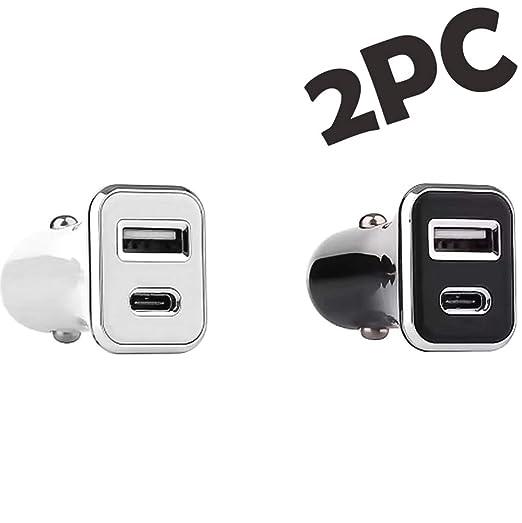 ZDZHU Cargador de Coche USB C, Adaptador de Cargador de ...