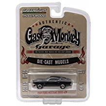 1969 FORD MUSTANG BOSS 429 from the show GAS MONKEY GARAGE * GL Hollywood Series 12 * 2016 Greenlight Collectibles Limited Edition 1:64 Scale Die Cast Vehicle by Greenlight