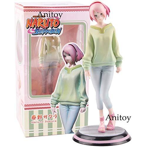 Yvonnezhang-Fig-Naruto-Shippuden-Gals-Sakura-Haruno-PVC-Shonen-Jump-Naruto-Shippuden-Sakura-Figura-Modelo-Juguetes-Regalo-195-cm-Sakura-Haruno-en-Caja