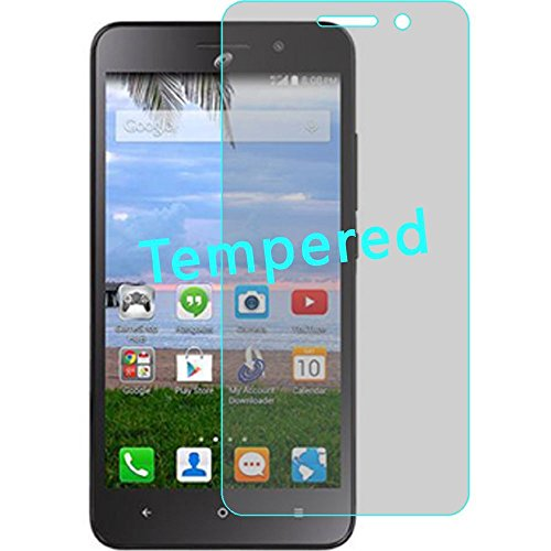 Huawei Raven LTE H892L - Wydan (TM) Clear Transparent Tempered Glass Screen Protector Film for Huawei Raven LTE H892L - Clear w/Wydan Stylus Pen