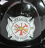 Making Believe Kids Rigid Plastic Black Fireman