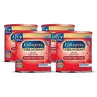 Enfagrow PREMIUM Toddler Next Step, Natural Milk Flavor - Powder Can, 24 oz (Pack of 4)