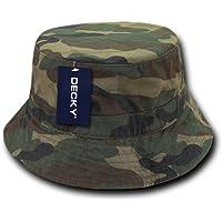 Decky Washed Polo de chino de sarga Bucket ajuste cómodo suave sombrero