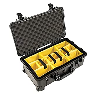 Pelican 1510 Case With Padded Dividers (Black) (B0019CSVMW) | Amazon Products