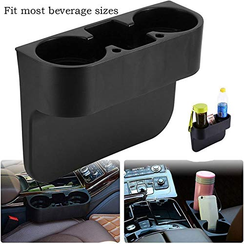 (Storage Holders & Racks - Black Cup Holder Drink Beverage Seat Seam Wedge Car Auto Truck Universal Mount - Storage Racks Holders Storage Holders Racks Roof Holder Universal Silicon Wrap Roll)