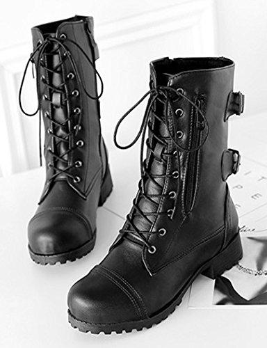 Easemax Petit Montante Classique Femme Bottines Talon Chaussure EqwEgr4
