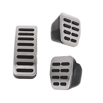 Kalttoy 3 piezas Sport MT Pedal de freno de embrague interior para VW Golf Jetta MK4 Bora Polo Beetle: Amazon.es: Hogar