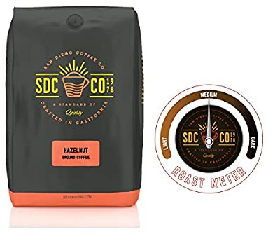San Diego Coffee Hazelnut, Medium Roast