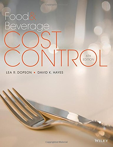 food and beverage cost control - 2
