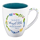 i can do all things art - Watercolor Collection Mug: