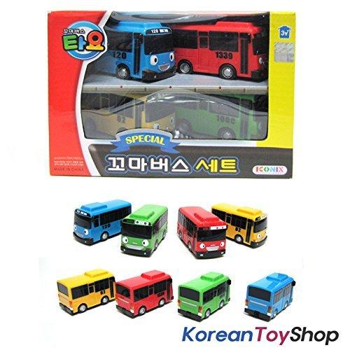 Little Bus TAYO Special Mini 4 Pcs Toy Set (Tayo + Rogi + Gani + Rani)