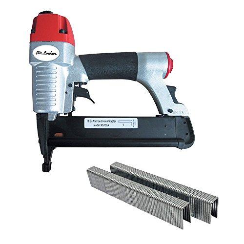 AIR LOCKER NS150AK 18 Gauge 1/2 inch to 1-5/8 inch Long, 1/4 inch Narrow Crown  inchL inch Wire Stapler Kit