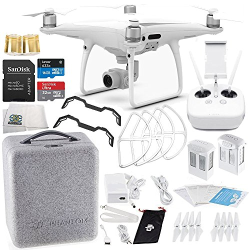 DJI Phantom 4 PRO Quadcopter Essential Flyer Bundle Kit