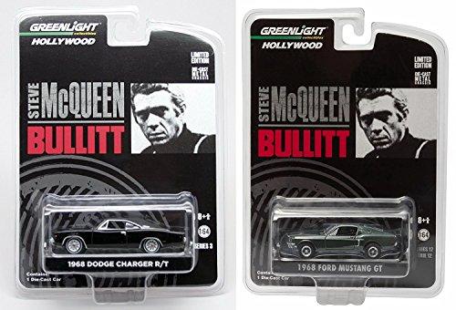 Steve Mcqueen Set Hollywood Movie Series 2 Car Set -