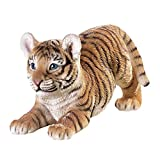 Collections Etc Tiger On The Prowl with Hand Painted Realistic Detail Review