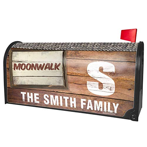NEONBLOND Custom Mailbox Cover Moonwalk Cocktail, Vintage Style for $<!--$24.99-->