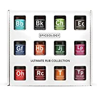 12 Pack Spiceology BBQ Spice Ultimate Rub Collection