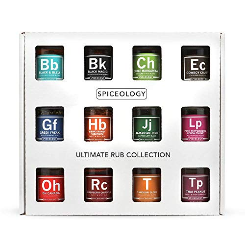 Ultimate Rub Collection - Spiceology Set of 12 Gourmet BBQ Spice Rubs by Spiceology (Image #9)