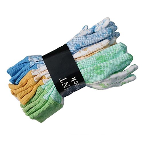 SEUROINT Garden Gloves Cotton Assorted product image