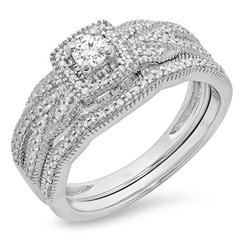 Diamond Ladies Bridal Engagement Matching product image